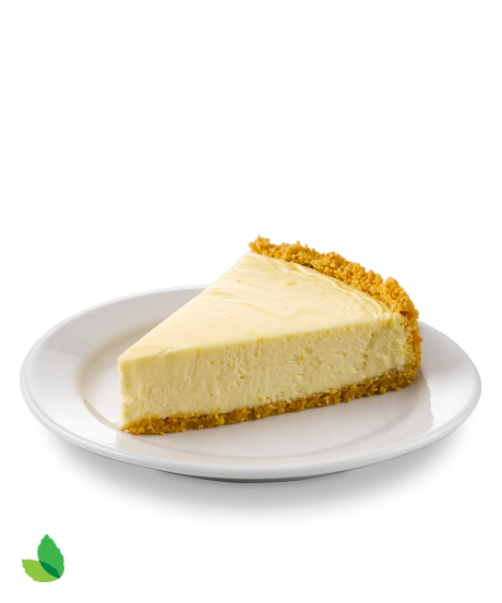 Cheesecake slice png. Classic recipe with truv
