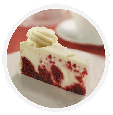 Cheesecake transparent. Crazy red velvet coveted