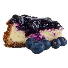 cheesecake transparent blueberry