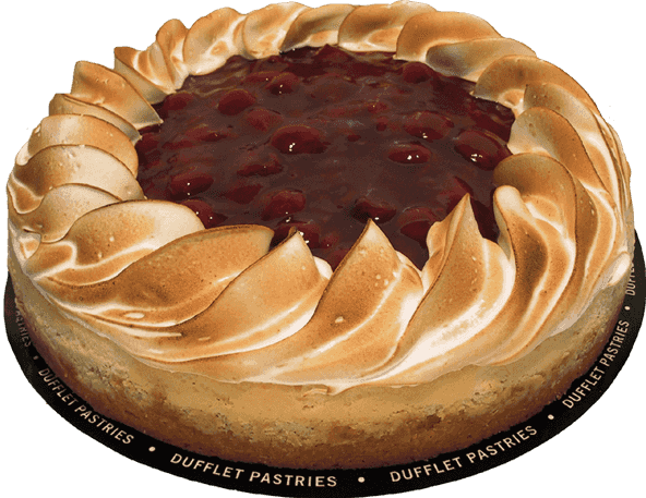 Cheesecake transparent cherry. Dufflet cakes pies sour