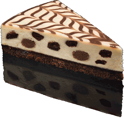 Cheesecake transparent chocolate. Belgian with a rich