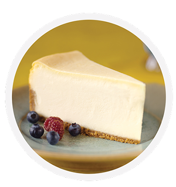 Cheesecake transparent classic. Coveted cakes