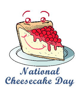 National day calendar history. Cheesecake transparent clip art clip art royalty free