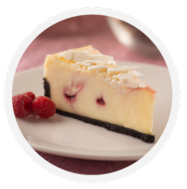 Cheesecake transparent raspberry. White chocolate coveted cakes