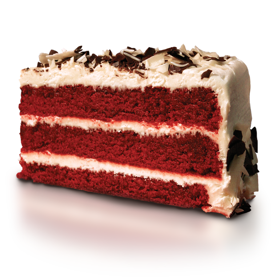 Cheesecake transparent red velvet cake. Wow factor desserts