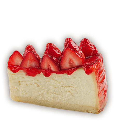 Cheesecake transparent strawberry. C carnegie bdeli