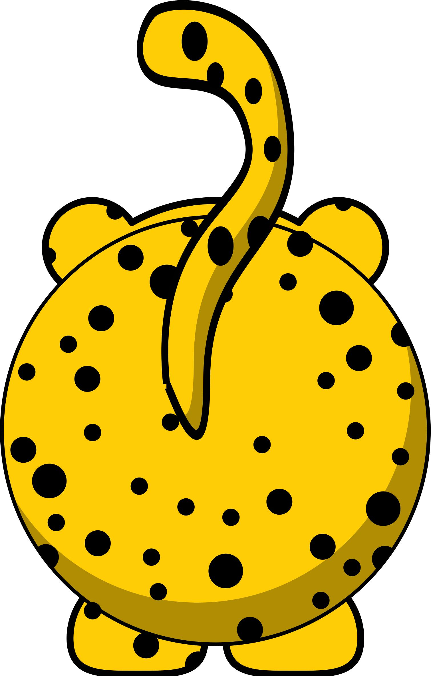 Cheetah clipart svg. Back icons png free