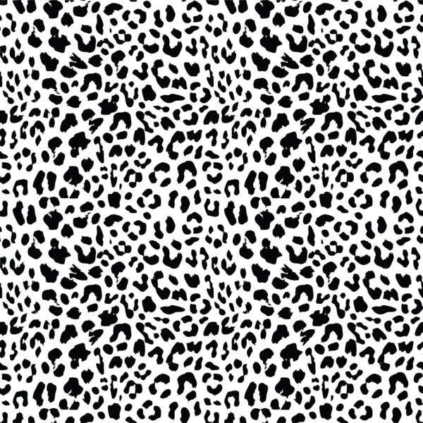 Cheetah texture png. Black and white leopard