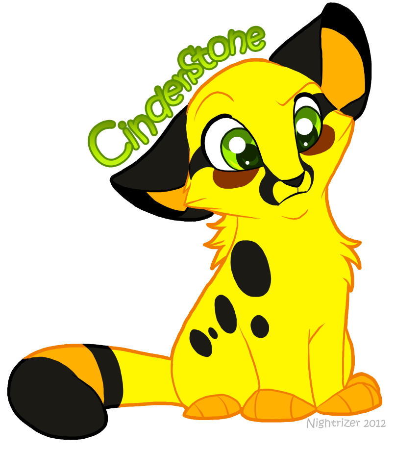 Cheetahs drawing chibi. Cinderstone by nightrizer on