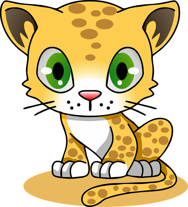 Cheetahs drawing robot. Daily groovy the cheetah