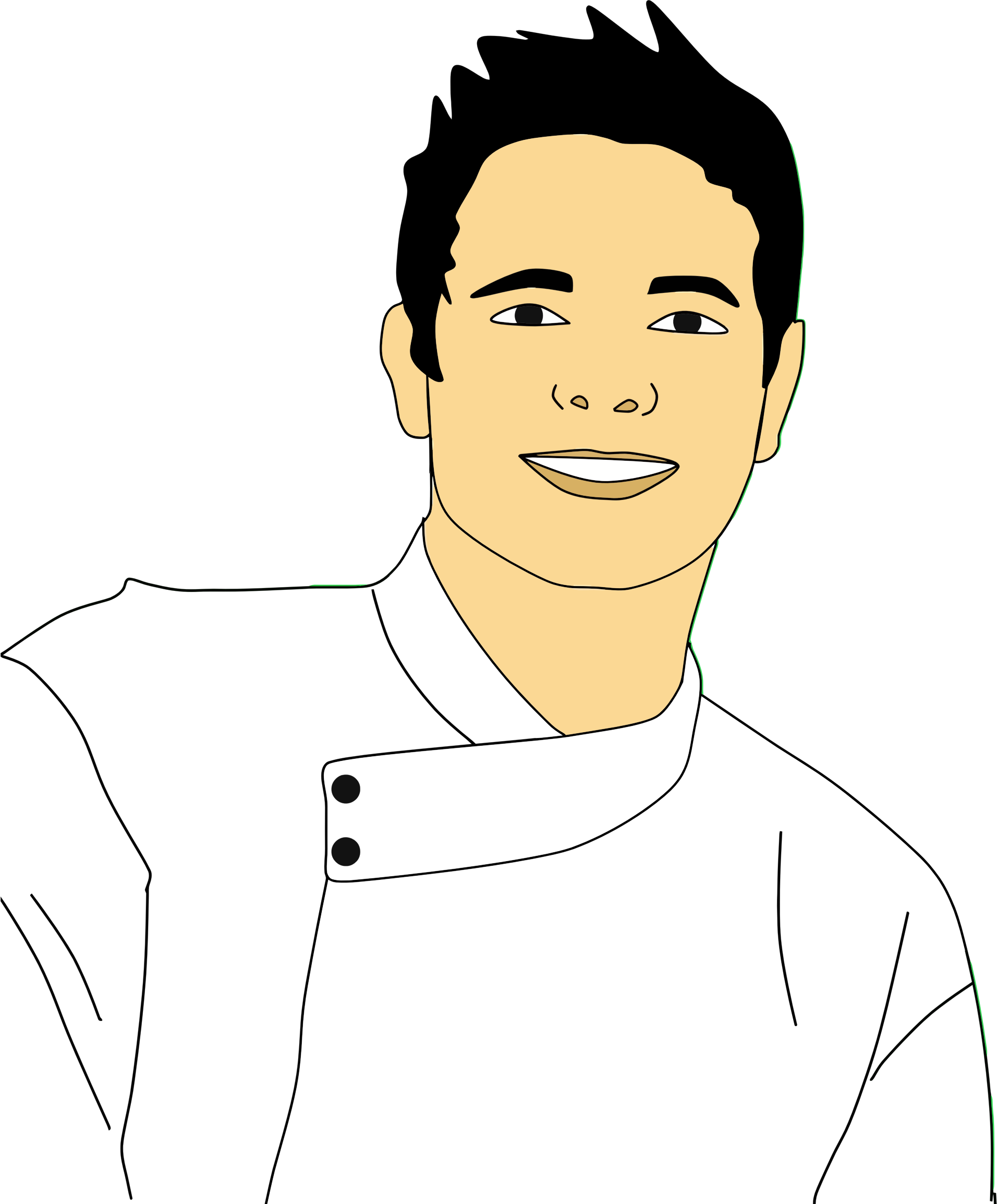 Chef clipart male chef. Portrait big image png