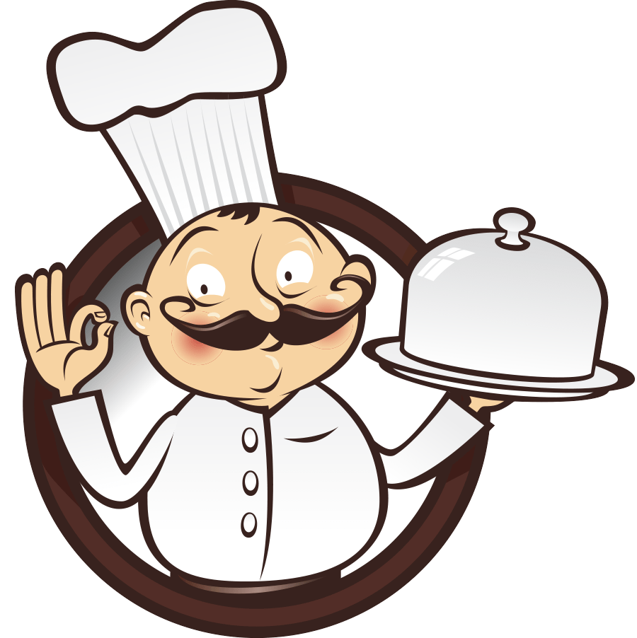 Catering clipart hotel cook. Male chef png image