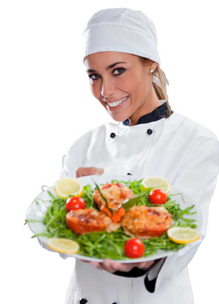 Chef cooking png. Female transparent images pluspng