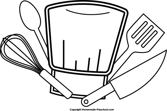 Chef hat vector png. Clipart black and white