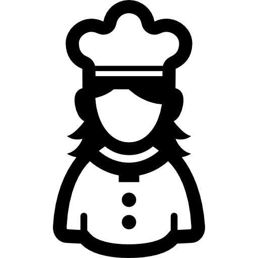 Chef icon png. Female free people icons