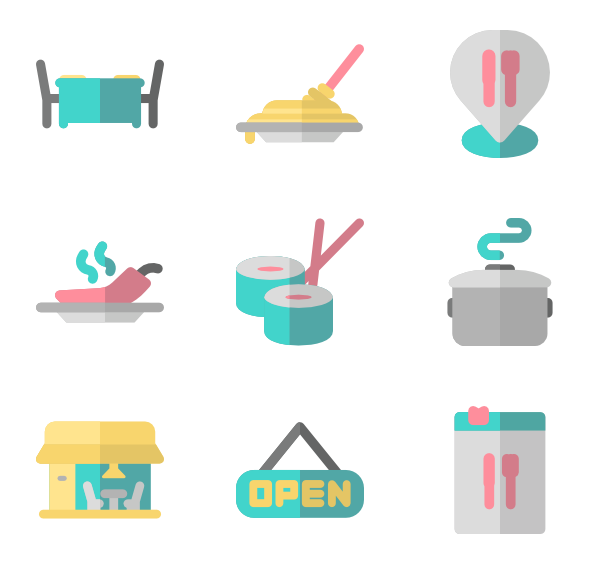 Chef vector png. Icons free restaurant color