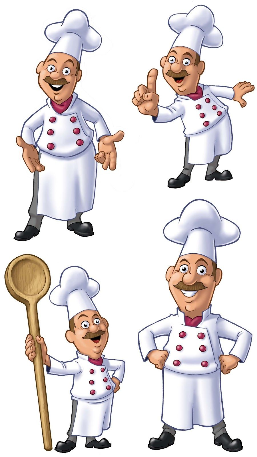 Chefs clipart. They look cool these