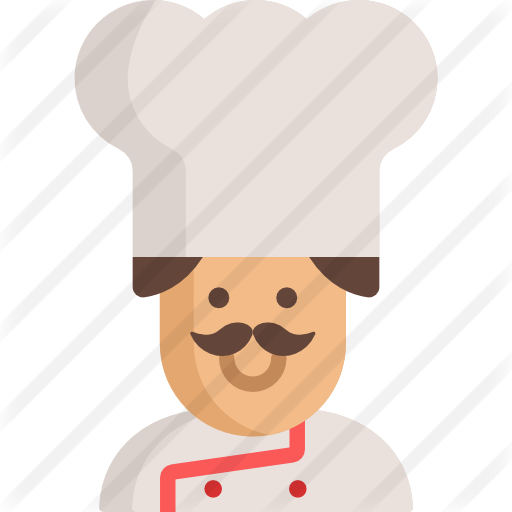 Spatula svg cartoon. Chef free people icons
