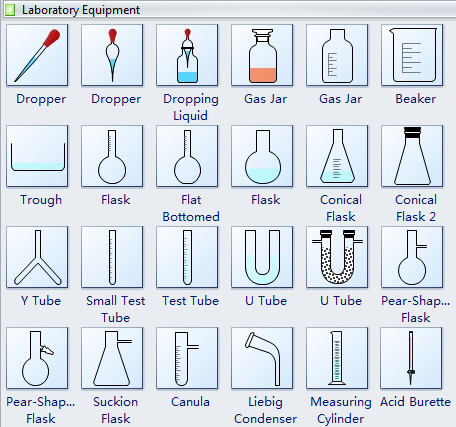Chemical clipart common laboratory apparatus. Equipment shapes and usage