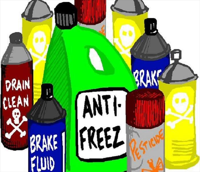 Chemicals clipart household product. Tips on chemical emergencies