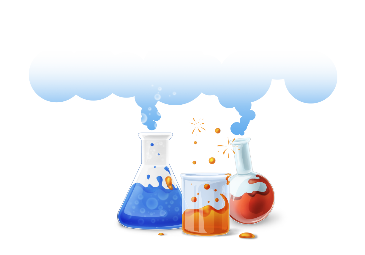 Chemistry clip chemical reaction. Free content art bottle