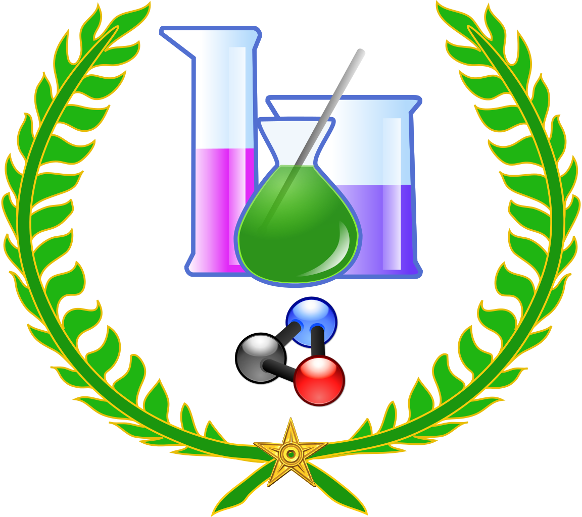 Chemistry clip chimie. File wikilaurier svg wikimedia