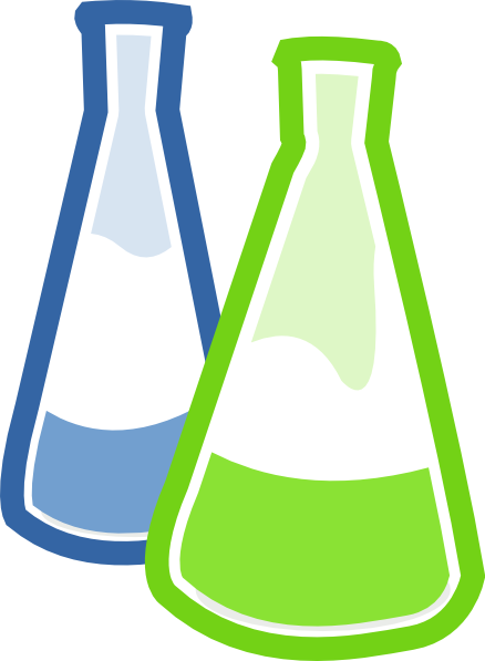 Chemistry clip glass. Chemicals clipart huge