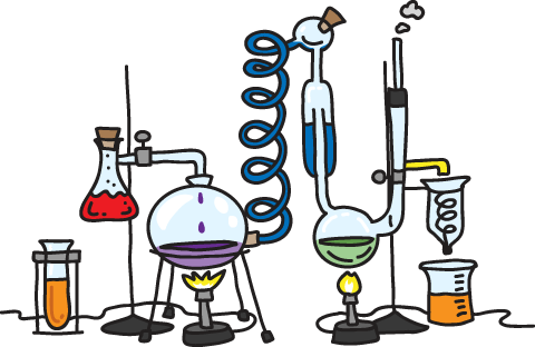 Chemistry clip laboratory apparatus. Physics picture library
