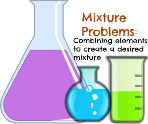 Chemistry clip mixture solution. Practicing problems in algebra