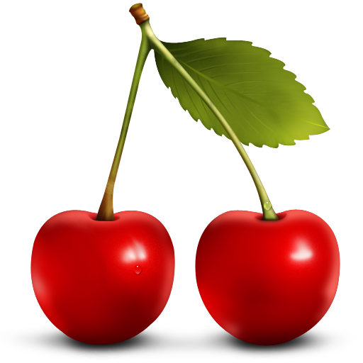 Brown cherry. Free cliparts download clip