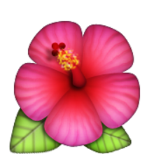 Cherry blossom emoji png. Flower clipart images gallery