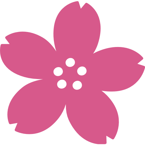 Cherry blossom emoji png. For facebook email sms