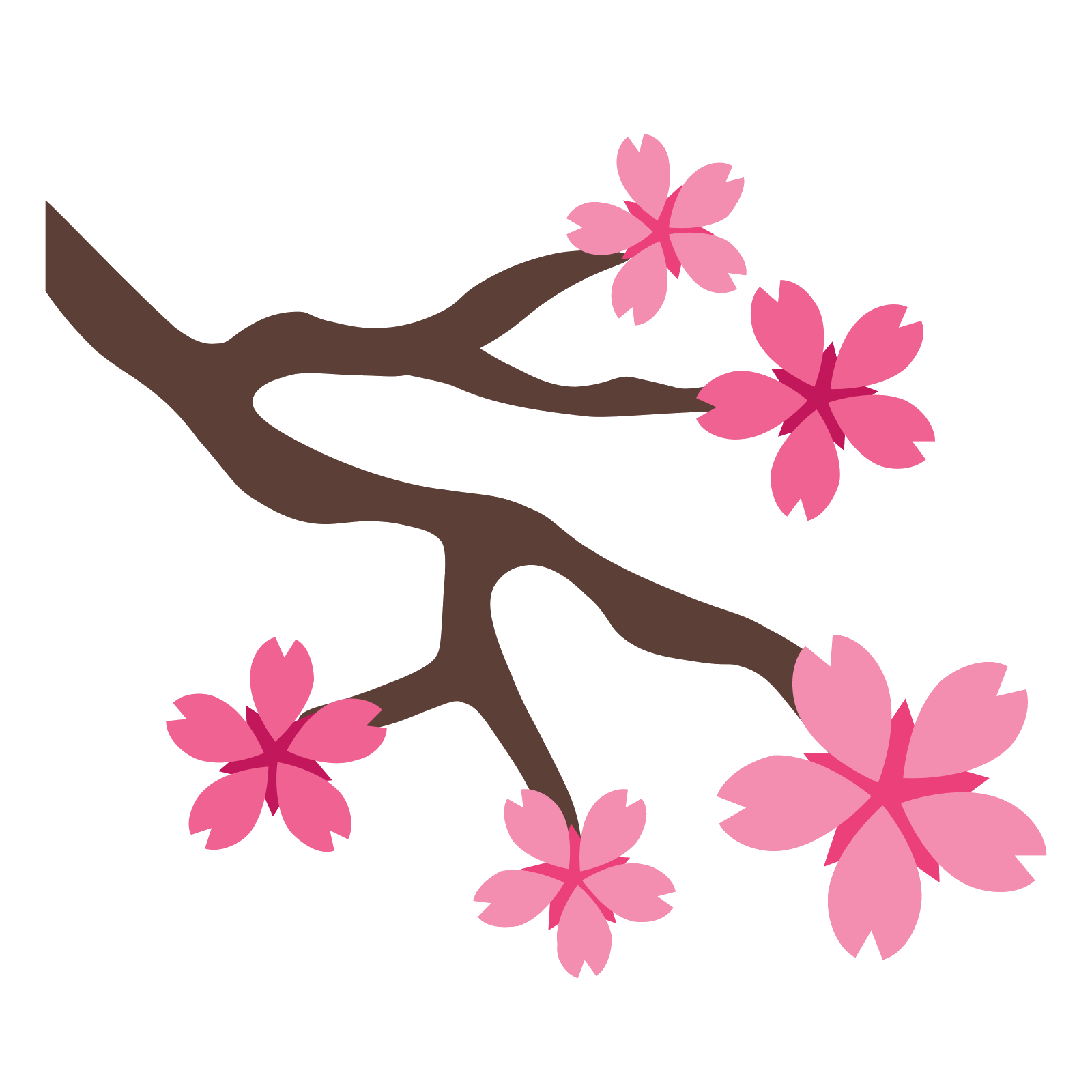Cherry blossom petals png. Sakura icon free download