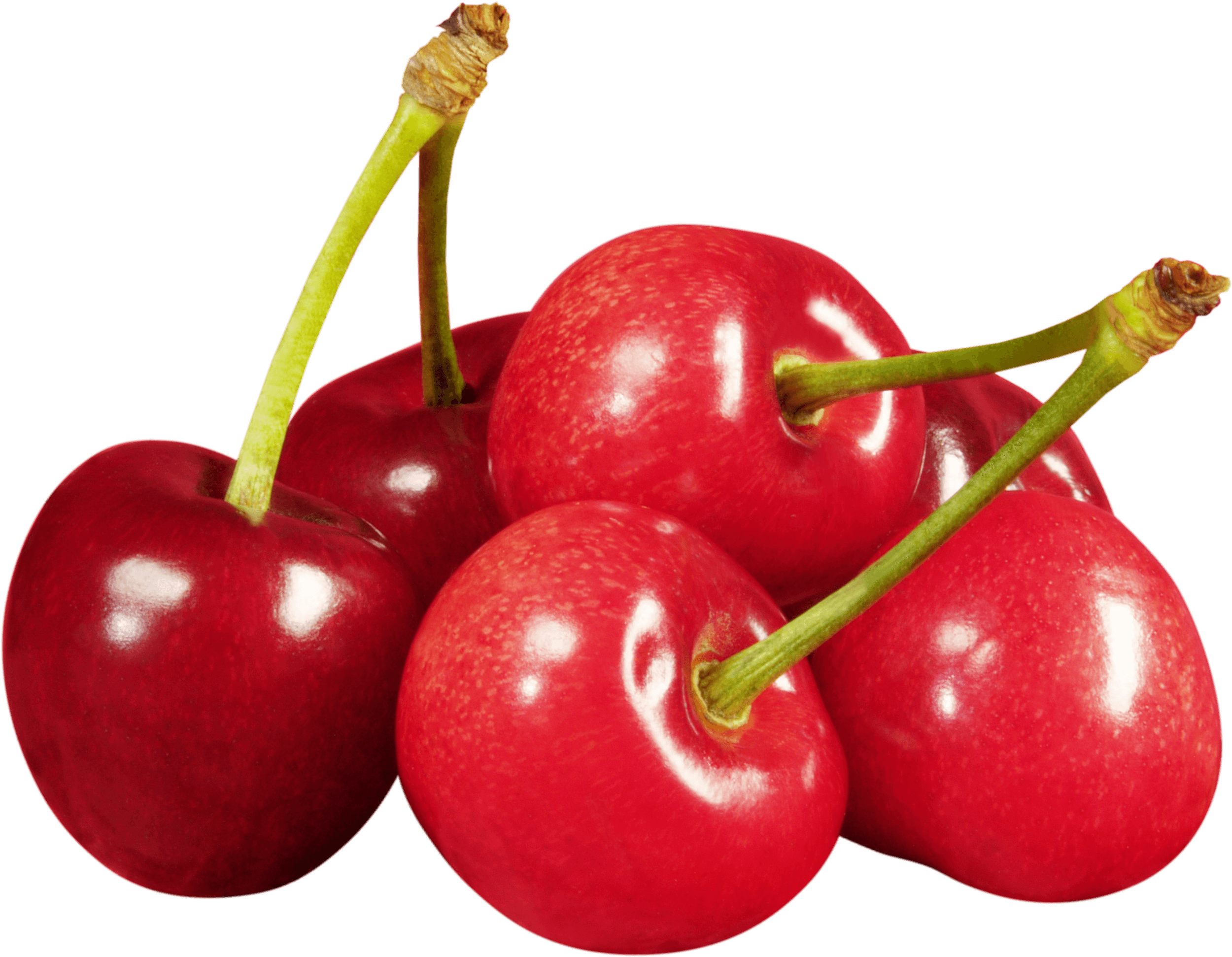 Cherry png. Group of cherries transparent