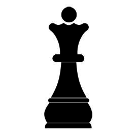 Chess clipart chess piece. Knight silhouette at getdrawings