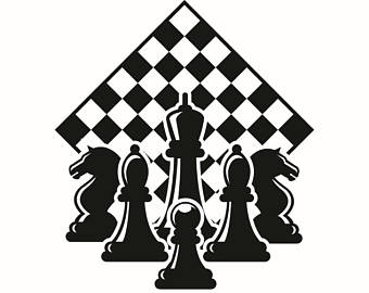 Chess clipart chess piece. Pieces svg etsy logo