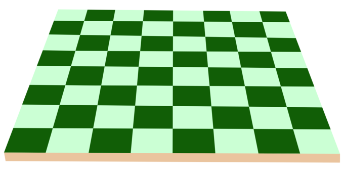 Checkered drawing chess board. Piece coloring book chessboard