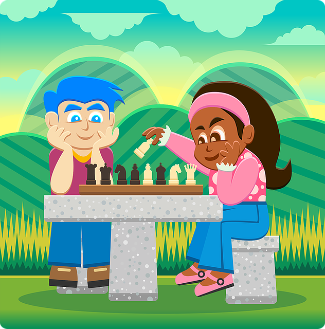Chess clipart kid chess. Ancient game inspires new