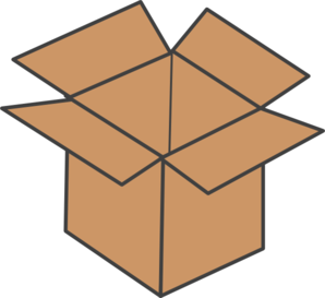Chest clipart small. Cardboard panda free images