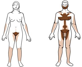 Chest hair png. Removal wikipedia sample distribution