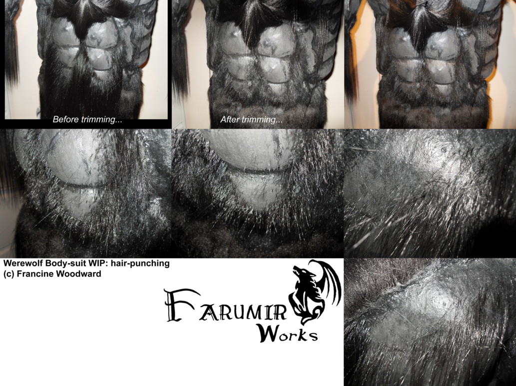 Chest hair texture png. Werewolf body suit wip