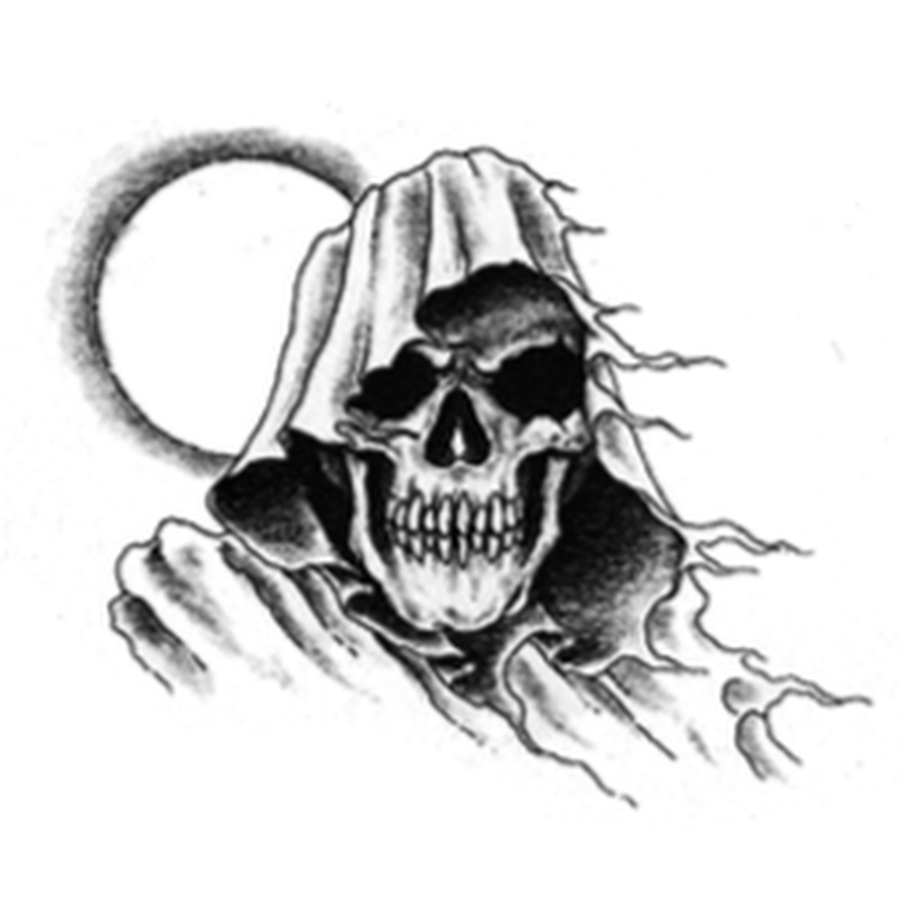 Chest tattoos png. Reaper tattoo designs