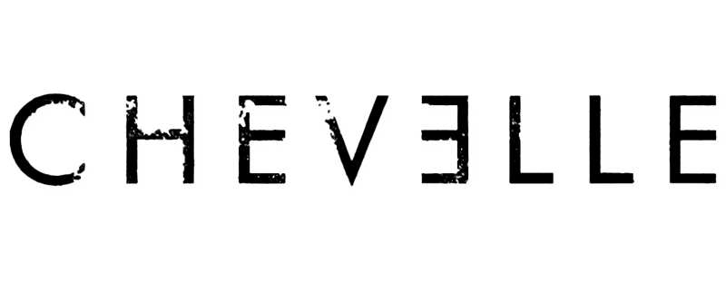 Chevelle band logo png. Black page