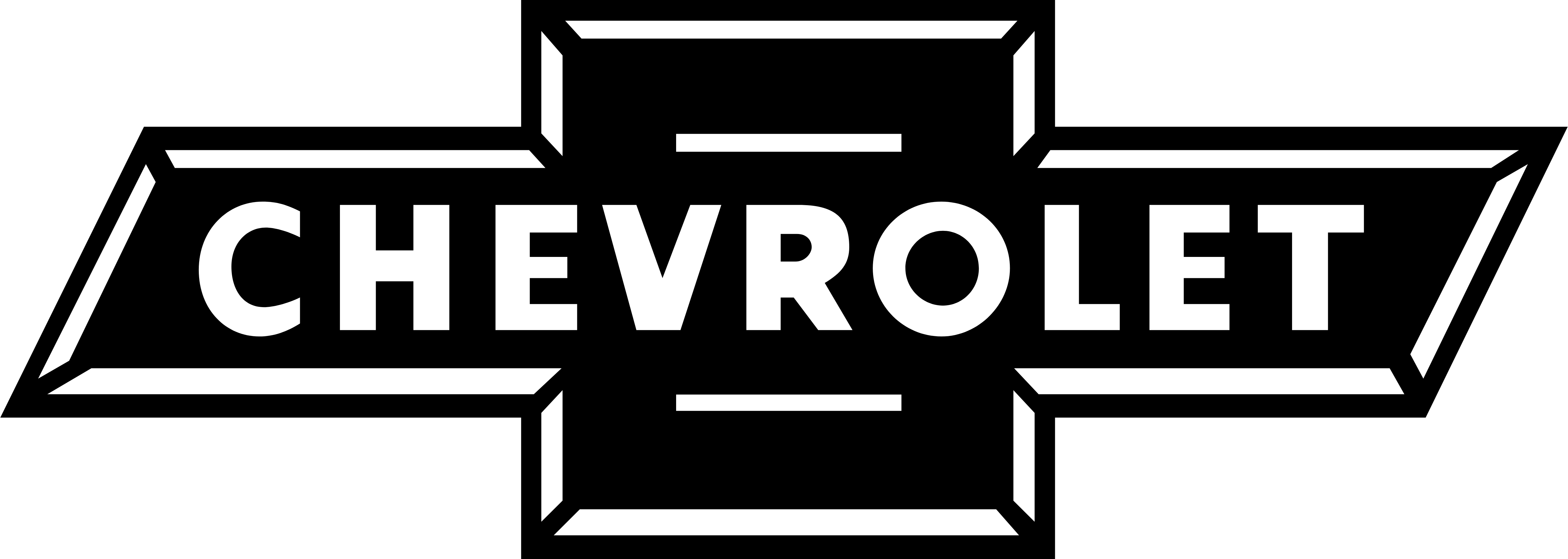 Chevrolet vector black and white. Logos download
