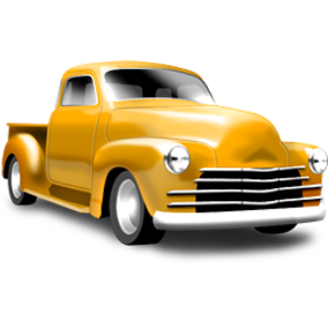 Chevrolet vector classic truck. Free images at clker