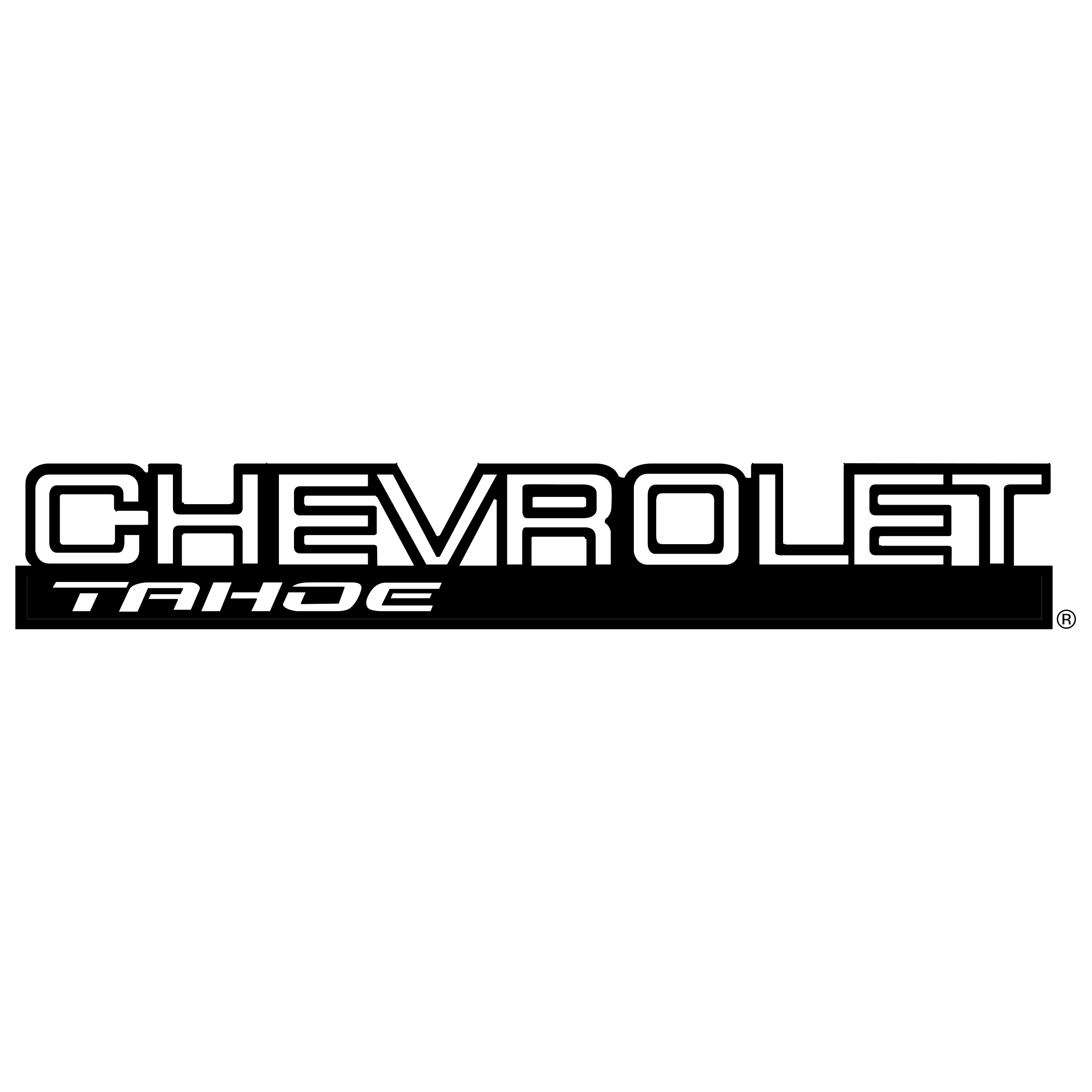 Chevrolet vector logo. Tahoe png transparent svg