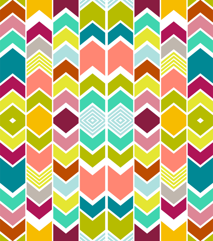 Chevron clipart multicolor. Mod wallpaper mrshervi spoonflower
