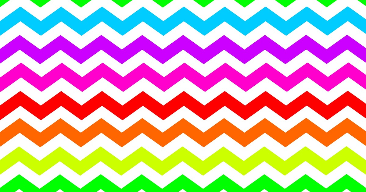 Chevron clipart multicolor. Colorful