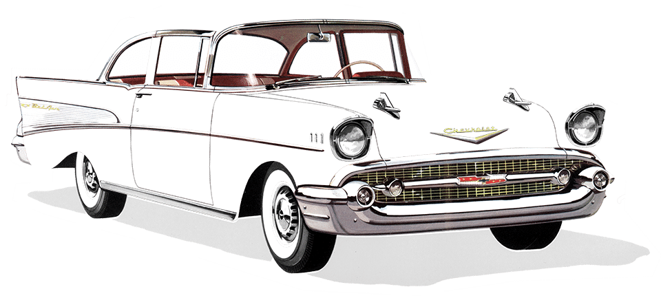 chevy drawing 55