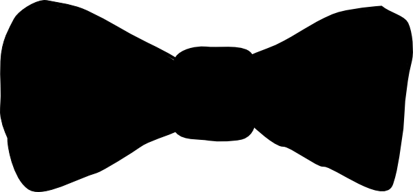 Drawing guys bow. Bowtie silhouette at getdrawings